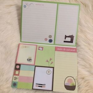 3 Sticky Note Pad Set